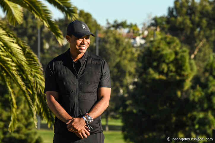Tiger Woods In 'Good Spirits' After Undergoing Follow-Up Procedures At Cedars-Sinai