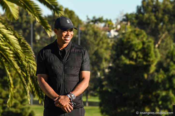 Tiger Woods In 'Good Spirits' After Undergoing Follow-Up Procedures At Cedars-Sinai