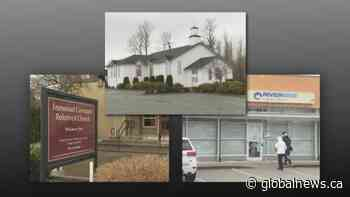 Small win for 3 B.C. churches accused of violating public health orders