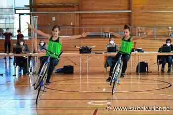 Kunstradsport: Bronze für Eva und Lena Streit - SÜDKURIER Online