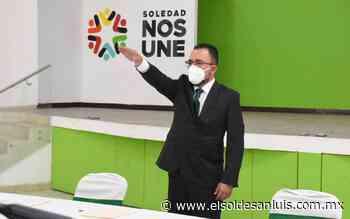 Toma protesta como alcalde interino de Soledad, Gerardo Zapata Rosales - El Sol de San Luis