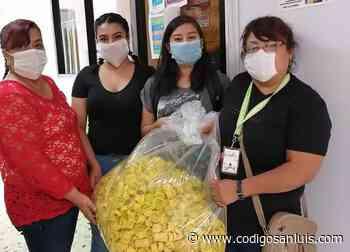 Entregó DIF de Soledad tapas de plástico en Asociaciones de combate al cáncer - Código San Luis