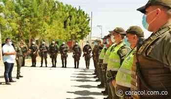 Comenzaron a llegar los 100 policías para reforzar la seguridad en Soledad - Caracol Radio