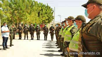 Llegaron los 100 policías que reforzarán la seguridad en Soledad - El Heraldo (Colombia)