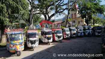 En Ataco mototaxistas deberán cumplir requisitos de ley - Emisora Ondas de Ibagué, 1470 AM