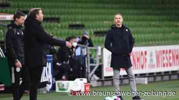"""Bundesliga: """"Hat mit Niveau nichts zu tun"""": Hütter kritisiert Werder"""
