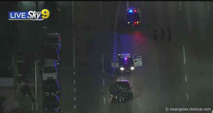 LAPD Officer Suffers Non-Life Threatening Injuries Following South LA Crash
