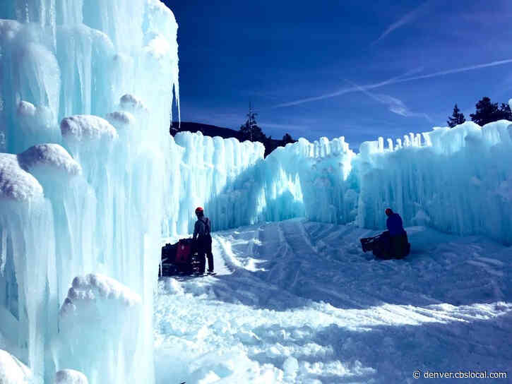 Dillon Ice Castles Increases To 50% Capacity For Final Week Of Season