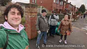 Green candidate Paris Hayes takes fly tippers to task with litter pickers