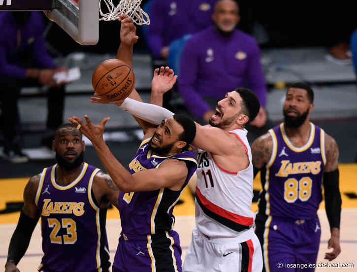Schröder Returns, Lakers Beat Blazers 102-93 To Snap Skid