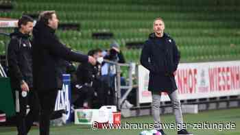"""Eintracht-Niederlage: """"Hat mit Niveau nichts zu tun"""": Hütter kritisiert Werder"""