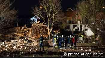 Schwere Explosion in Kaufbeuren – Vereinsheim komplett zerstört