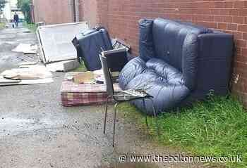 Close to 1,000 fly-tipping incidents reported in Bolton