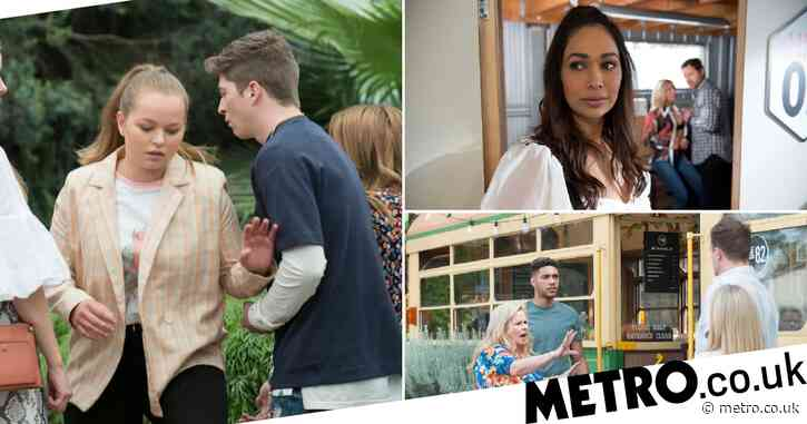 Knife danger, Levi betrays Kyle and Amy lies: 6 big Neighbours spoilers
