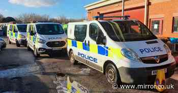 Teens forced to clean police van with toothbrushes after hurling mud at it