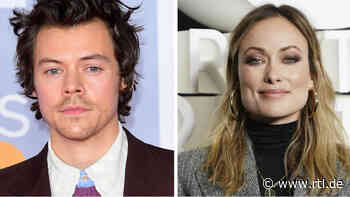 """Olivia Wilde zieht voll verknallt mit Ex-""""One Direction""""-Star Harry Styles zusammen - RTL Online"""