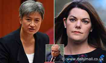 Penny Wong reveals how she ran into a woman who claims she was raped by a now cabinet minister