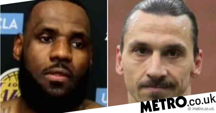 LeBron James hits back at Zlatan Ibrahmovic's criticism of his criticism over political activism