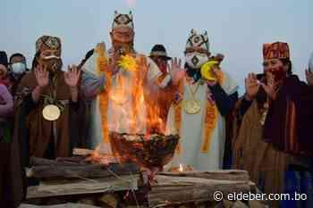 Arce y Choquehuanca son posesionados en ceremonia ancestral en Tiahuanaco   EL DEBER - EL DEBER