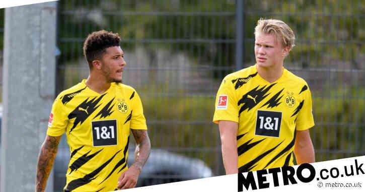 Borussia Dortmund chief hands Manchester United Jadon Sancho and Erling Haaland transfer boost