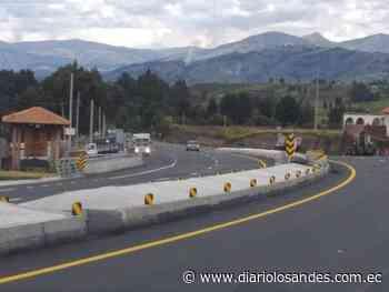 MTOP inaugurará primer tramo de ampliación en la vía Riobamba-Ambato - Diario Los Andes