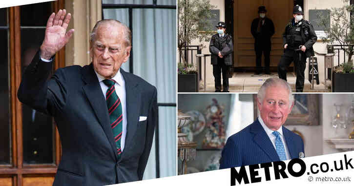 Prince Philip 'asked Charles to visit hospital to plan Royal Family's future'