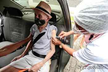 Cabo de Santo Agostinho realiza mutirão para vacinar contra Covid idosos que têm entre 80 e 84 anos - G1