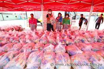 Familias Shipibo-Konibo de Cantagallo recibieron alimentos de primera necesidad - Radio Nacional del Perú