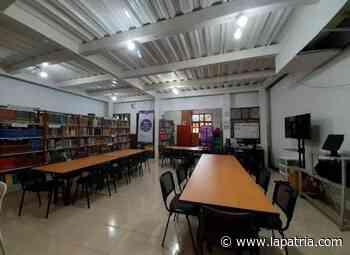 Dotan biblioteca María Eastman en Supía - La Patria.com