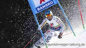 Weltcup: Skirennfahrer Schmid beim Riesenslalom in Bansko Elfter