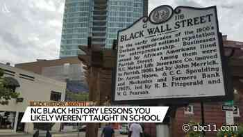 NC Black history: Here are 10 Black history lessons you likely were not taught in school