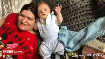 Lockdown 'even harder' for new mum with disabilities