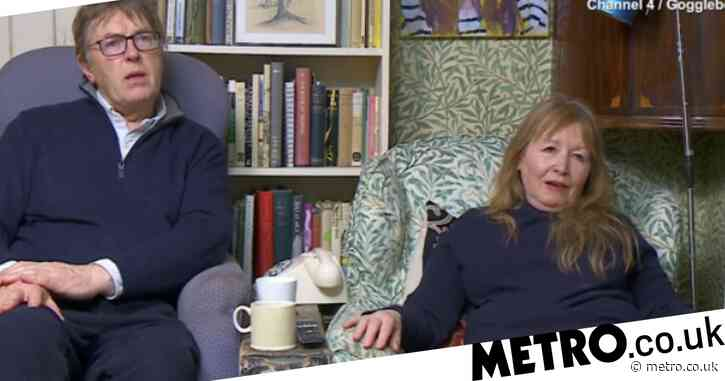 Gogglebox star Giles Killen recalls suffering from imposter syndrome on Zoom