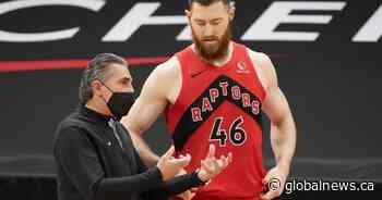Scariolo steps in to coach Toronto Raptors to 122-111 win over slumping Houston Rockets