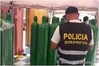 San Miguel: Policía Nacional intervino vivienda donde vendían balones de oxígeno de forma ilegal - Expreso (Perú)