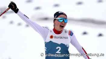 Nordische Ski-WM: Geschichtsträchtige Kombi-Premiere: Gold an Norwegerin