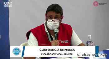 """Ricardo Cuenca: """"Volver a clases también es un compromiso por la equidad y una lucha frontal contra las desigualdades"""" - El Comercio Perú"""