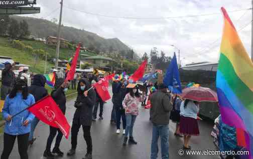 Las vías que conectan Cuenca con Loja y Machala están bloqueadas parcialmente por manifestaciones - El Comercio (Ecuador)