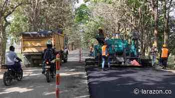 Inició primera fase del asfaltado de la vía La Apartada – Montelíbano - LA RAZÓN.CO