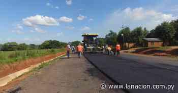 Obra Ñumí-San Juan Nepomuceno avanza con trabajos de base de concreto asfáltico en calzada - La Nación