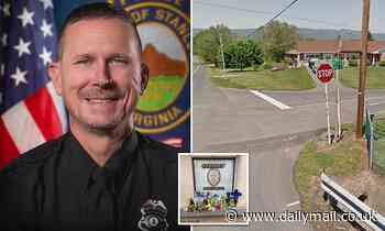 Virginia police officer, 48, is shot dead during a traffic stop