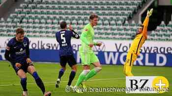 Der VfL Wolfsburg gewinnt 2:0 gegen Hertha BSC