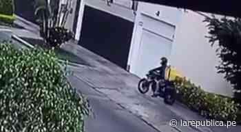 San Borja: delincuente vestido como repartidor asaltó con un arma a mujer - LaRepública.pe