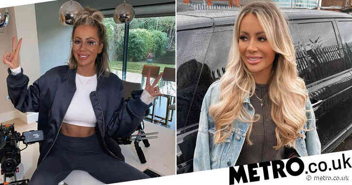 Olivia Attwood admits she feels 'guilty' for getting hair dyed for work amid lockdown