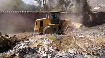 Coronavirus en Cusco: Urubamba inicia ampliación de cementerio tras aumento de muertes por COVID-19   mdga - LaRepública.pe