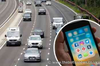 Drivers face £1000 fines for sharing road updates on Facebook - The Bolton News