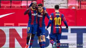 Messi stars as Barcelona go second in La Liga