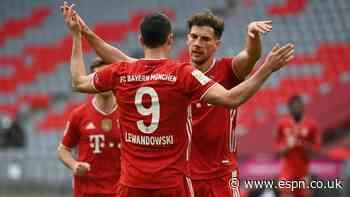Lewandowski, Gnaby hit doubles as Bayern thrash Cologne