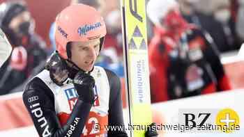 Skispringen: Karl Geiger gewinnt Silber bei der Heim-WM in Oberstdorf