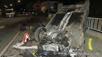 Radevormwald: Fahrerin (29) richtet immensen Schaden an - und verletzt drei Polizisten - SauerlandKurier